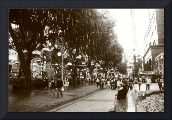 Orchard Road Singapore BW