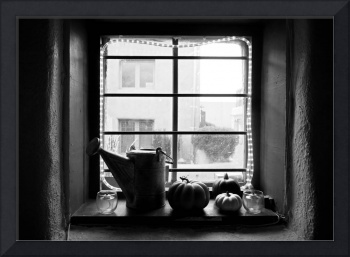 Adobe Window Autumn Still Life