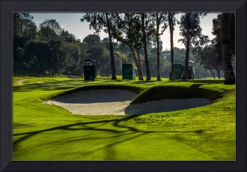 Riviera Country Club Golf Course Hole Photo Wide