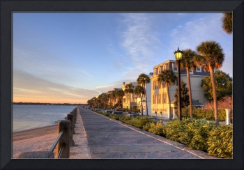 Charleston East Battery Row Sunrise 3