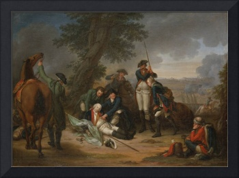 The Death of Field Marshal Schwerin at the Battle