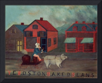Ye Boston Baked Beans, 1886 (oil on canvas)