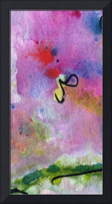 The Missing Link Intuitive Abstract by Ginette