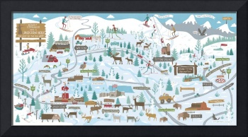 Welcome to Jackson Hole in Winter