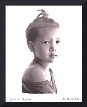Rochelle at three years