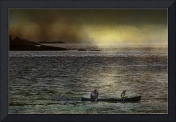 Canoe and Moody Light