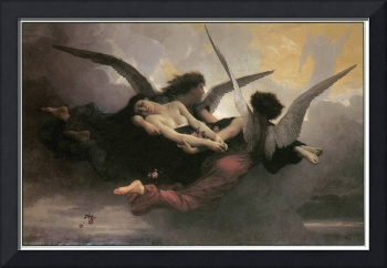 A Soul Brought to Heaven by Adolphe Bouguereau