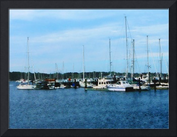 Boats At Newport RI