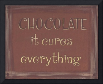 Chocolate Sign (Light Brown)