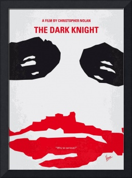 No245 My Dark Knight minimal movie poster