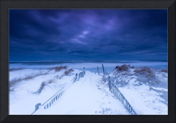 Mystica Clouds Nauset Beach Winter