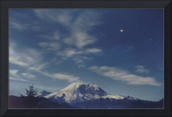 Mt. Rainier / Mars / Clouds
