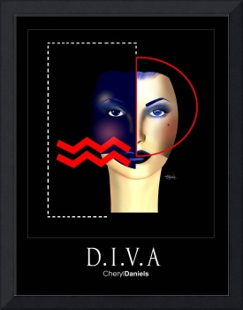 Two Faced Diva (black)