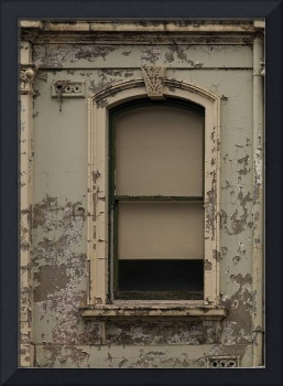 Window in a Wall with Flaking Paint B011201_140689