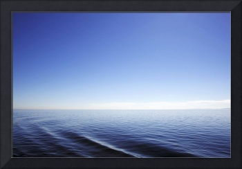 Ocean Ripples in the Salish Sea color photograph
