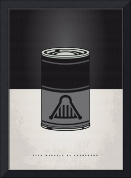 MY STAR WARHOLS DARTH VADER MINIMAL CAN POSTER