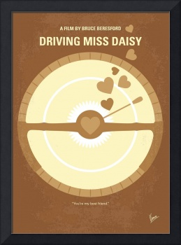 No1004 My Driving Miss Daisy minimal movie poster