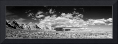 Nevada Desert Mountain Panorama