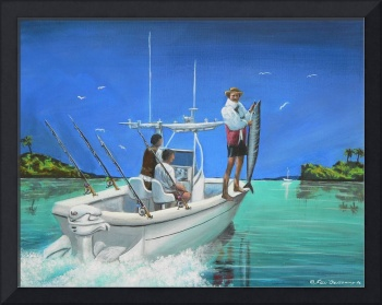 Fishing in the Bahamas