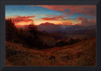 William_Keith_-_Sunset_on_Mount_Diablo_(Marin_Suns
