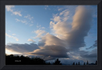 Surreal ~ NW Oregon Storm clouds