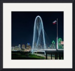 Margaret Hunt Hill Bridge, Dallas, Texas by Dave Wilson