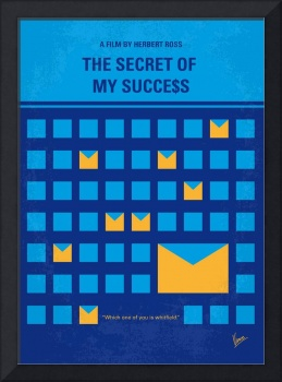No464 My THE SECRET SUCCES minimal movie poster