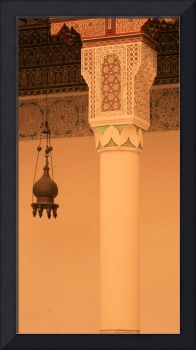 Column in mosque