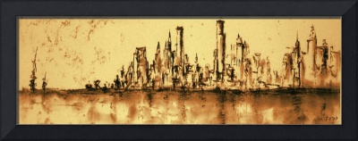 New York City 79 - Oil Painting