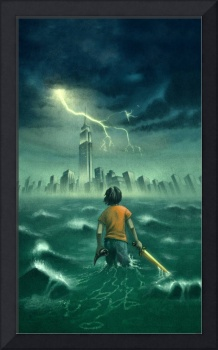 The Lightning Thief - Percy Jackson Book Cover