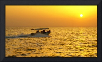 Golden Sunset @ Bahrain