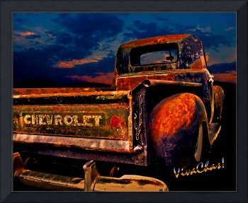 Rat Rod Chevy Truck