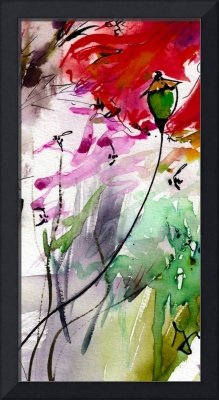 Intuitive Modern Floral Poppy Pods 1