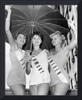 International Lovely Ladies in Miss Universe Conte