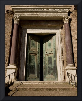 Doors in Roman Forum