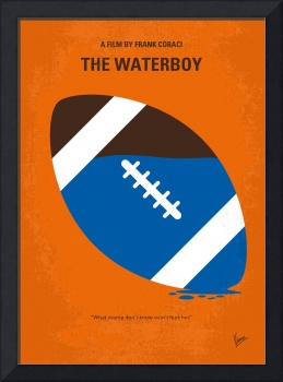 No580 My The Waterboy minimal movie poster