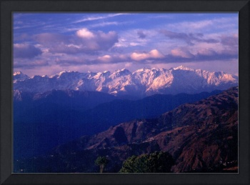 Before the Sun Raises Over the Himalayas