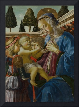 Andrea del Verrocchio - The Virgin and Child with