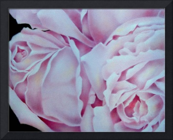 Abstract Pink Roses