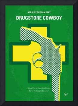 No628 My Drugstore Cowboy minimal movie poster