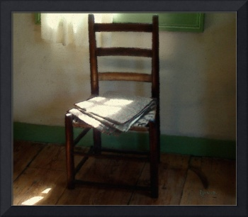 Still Life with Straight Chair