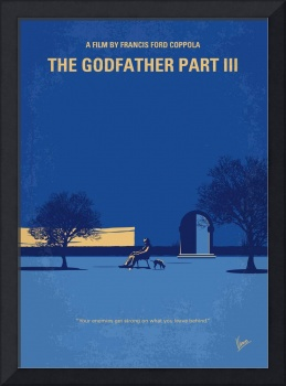 No686-3 My Godfather III minimal movie poster