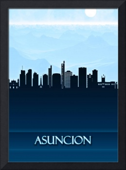 Asuncion City Skyline