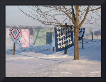 Quilts and Snow