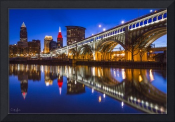 Cleveland West Bank of the Flats Reflection 2