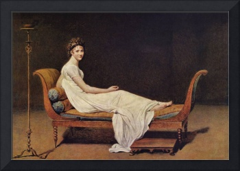 Portrait of Madame by Jacques Louis David