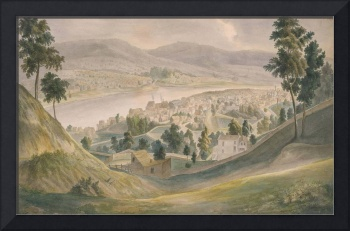 Adrien Mayers~View of Cincinnati, Newport, and Cov
