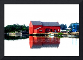 The Little Red Boathouse