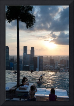 Marina Bay, Singapore (pool side)
