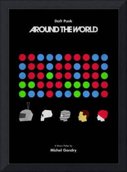 AROUND THE WORLD - DAFT PUNK (Michel Gondry)